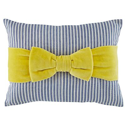 Beaucoup Bow Throw Pillow Cover
