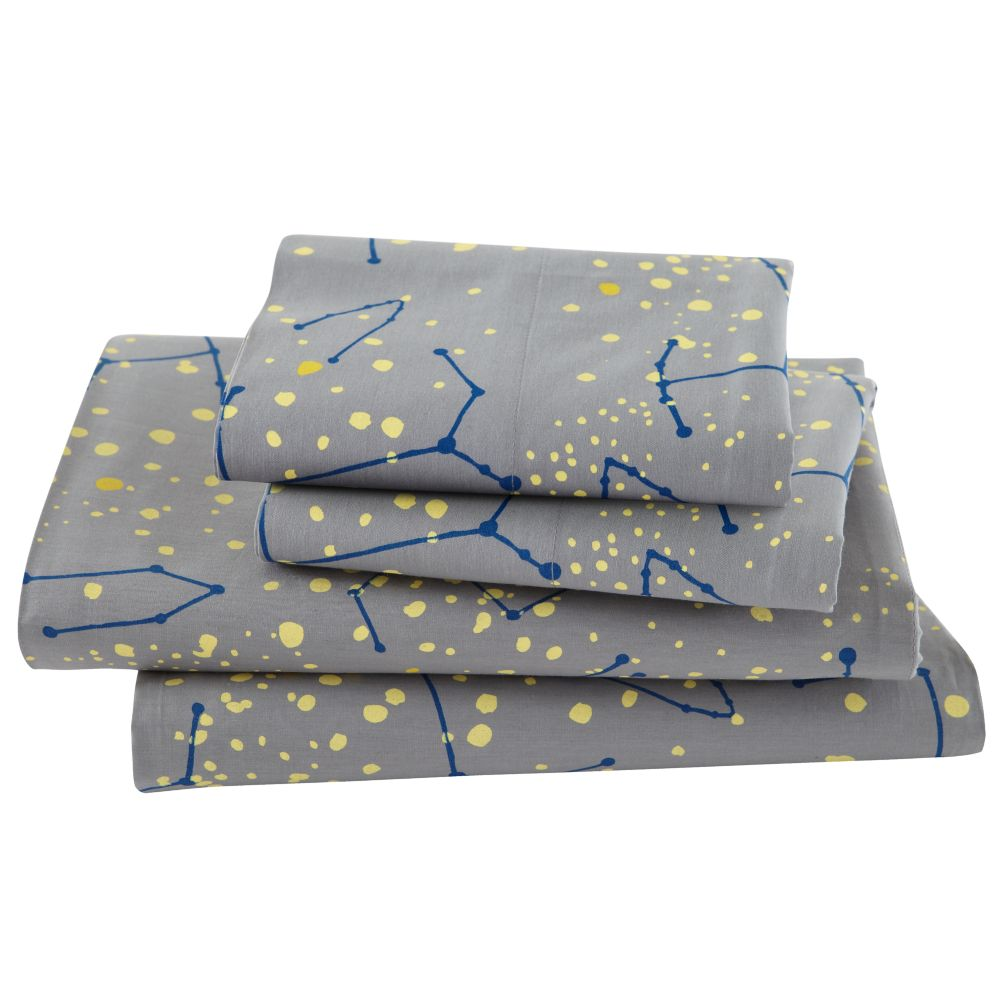 organic orions twin sheet set the land of nod - Kid Sheets