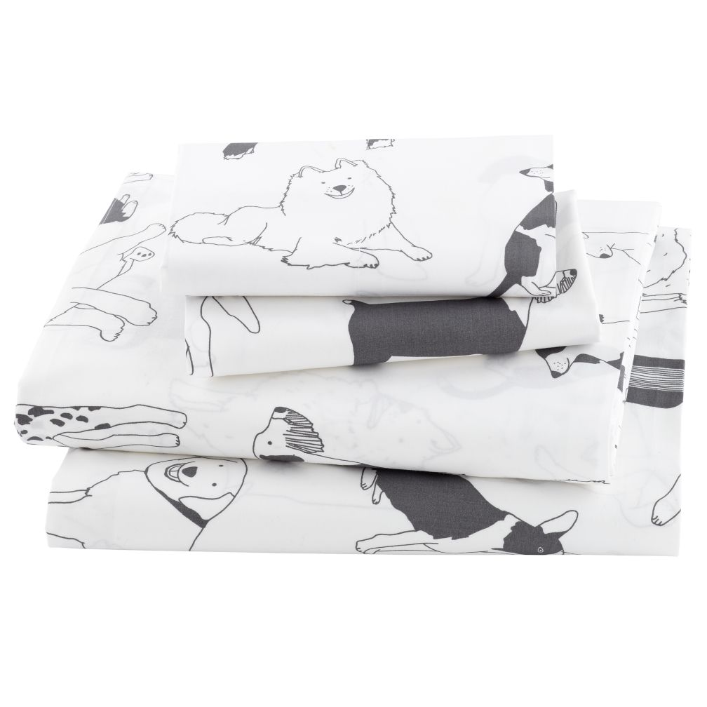 Organic Best Friend Dog Full Sheet Set