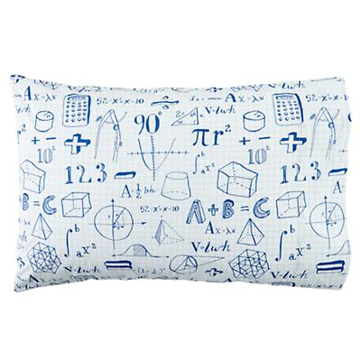 Show Your Work Pillowcase