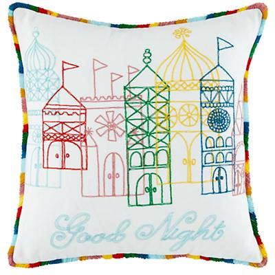 1001 Good Nights Throw Pillow Cover
