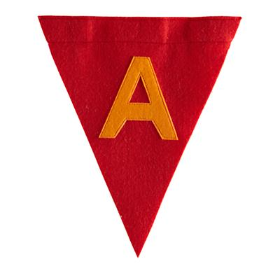 A Print Neatly Pennant Flag (Boy)