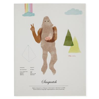 Rare Sightings Wall Art (Sasquatch)