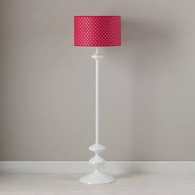 Glow Lightly Floor Lamp Shade (Pink)