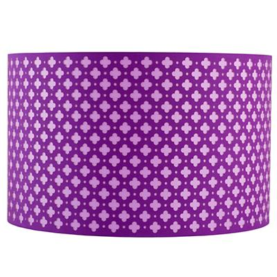 Glow Lightly Floor Lamp Shade (Purple)