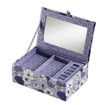 Flower Girl Jewelry Box (Purple)
