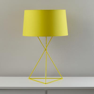 Isosceles Table Lamp (Yellow)