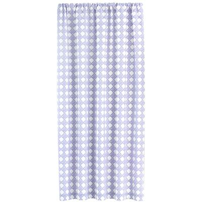 "63"" Lattice Curtain Panel (Lavender)"