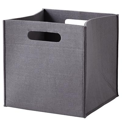 Once More with Felting Cube Bin (Grey)