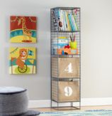 On the Grid Bookcase (Grey)