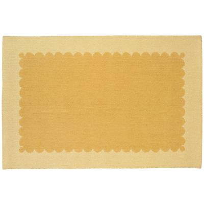 8 x 10' Yellow Picture Frame Rug