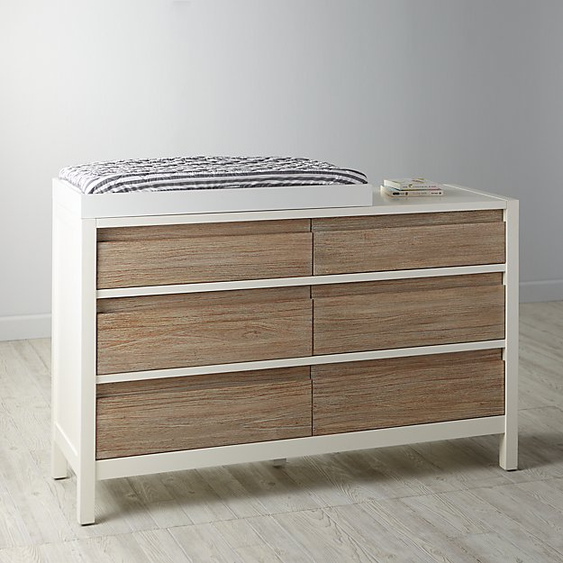 Andersen 6-Drawer Changing Table (Whitewash)