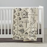 Animal Acres Baby Blanket
