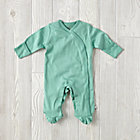 Green 0-3 Months Babysoy Footie Pajamas