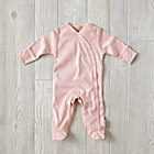 Pink 0-3 Months Babysoy Footie Pajamas