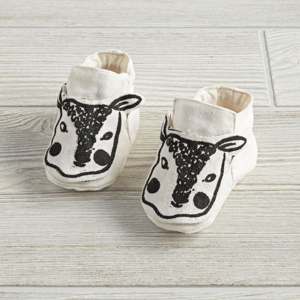 6-12 Months Farmland Booties (Natural)