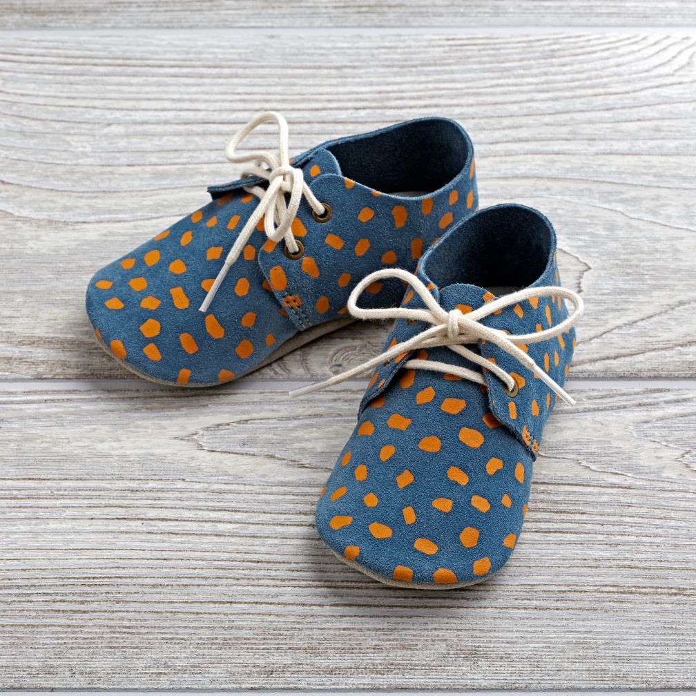 Zuzii Baby Shoes (Blue)