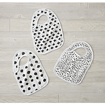 aden + anais Freehand Snap Bibs (Set of 3)
