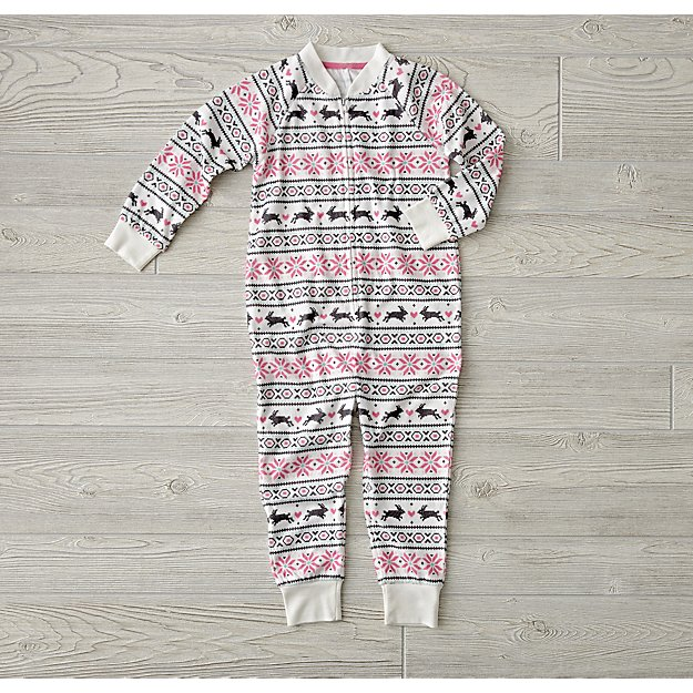Snowbunny Fleece One Piece (4T)