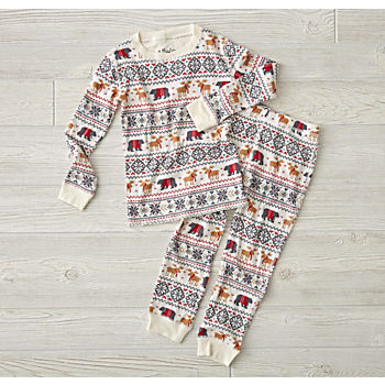 Moose Thermal Pajamas (2T)