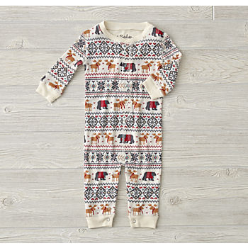 Moose Thermal Romper (3-6 Months)