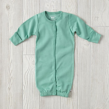 Babysoy Green Gown (0-3 Months)