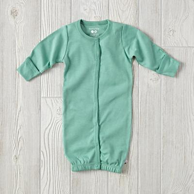 Babysoy Green Gown (3-6 Months)