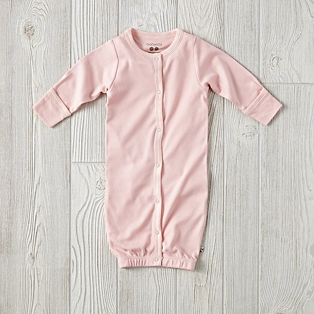 Babysoy Pink Gown (0-3 Months)