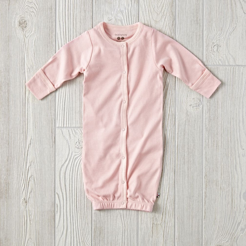 Babysoy Pink Gown (3-6 Months)