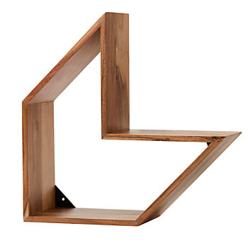 Arrow Wood Shelf