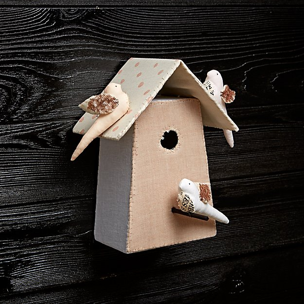 Large Bird House 1 by Tamar Mogendorff