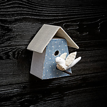 Small Bird House 5 by Tamar Mogendorff