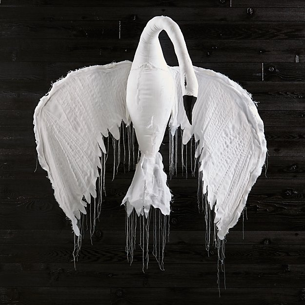 Large Hanging Swan by Tamar Mogendorff