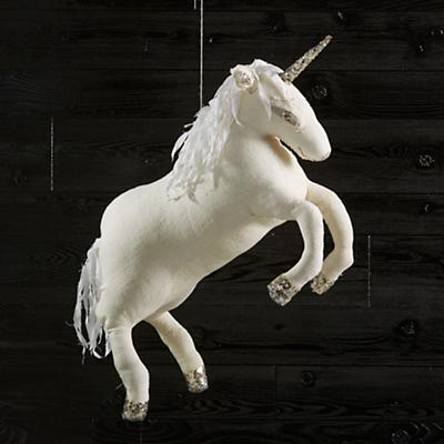 Flying Unicorn (Silver)