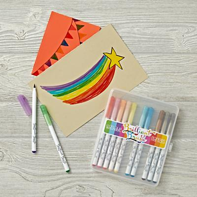 Brilliant Brush Markers (Set of 12)