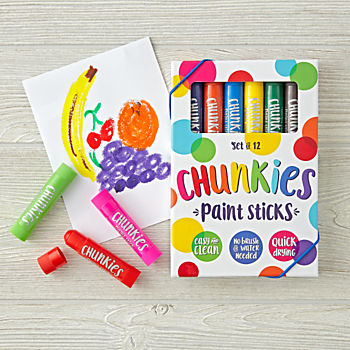 Chunkies Paint Sticks (Set of 12)