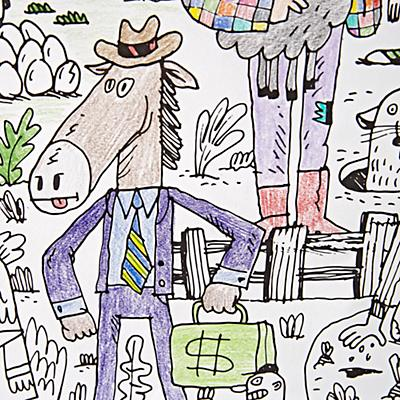 Arts_Crafts_Giant_Coloring_Poster_Funny_Farm_v2_Details_v4