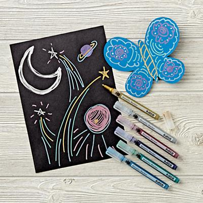 Metallic Markers (Set of 6)