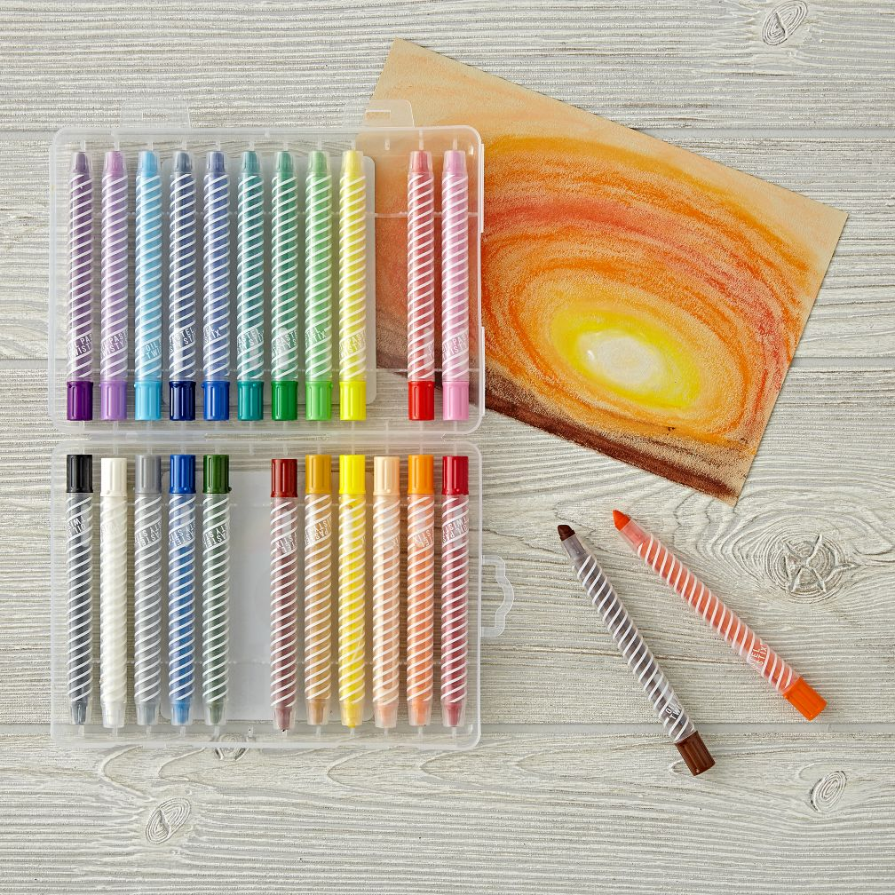 Oil Pastel Twisty Stix (Set of 24)