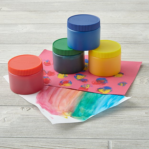 Paint the Town Finger Paint (Set of 4)