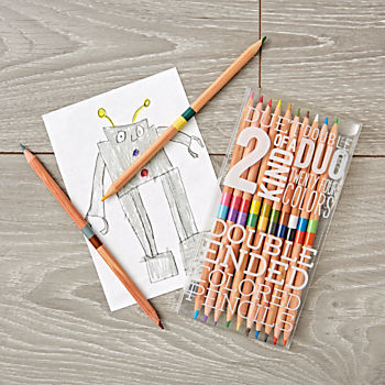 Double-Sided Color Pencils (Set of 12)
