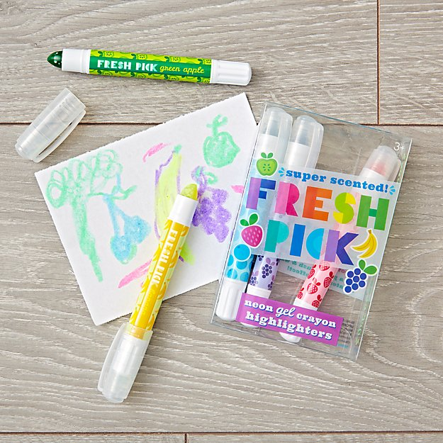 Fresh Pick Scented Gel Crayons (Set of 5)