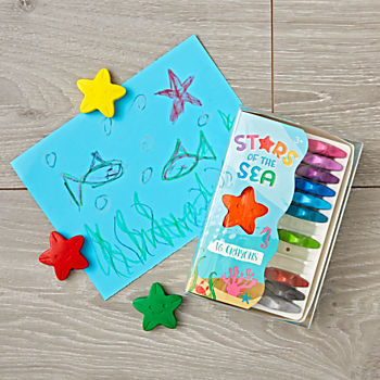 Stars of the Sea Crayons (Set of 16)