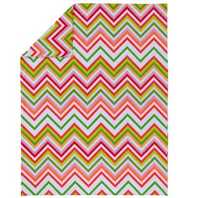 Watermelon Stripe Duvet Cover (Twin)