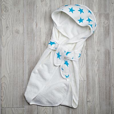 aden + anais Blue Star Bath Wrap