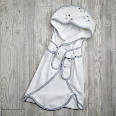 aden + anais Grey Star Bath Wrap