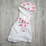 aden + anais Pink Star Bath Wrap
