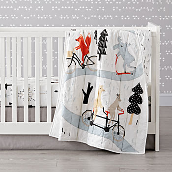 Forest Friends Crib Bedding (3-Piece Set)
