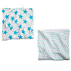 aden + anais Blue Star Swaddle Blankets (Set of 2)