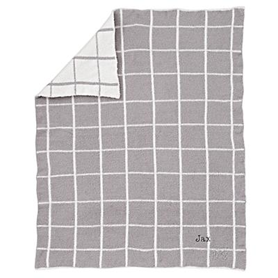 Baby_Blanket_Simple_Pattern_Grey_Silo